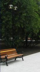 Декоративные парковые опоры