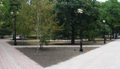 Столбики парковые