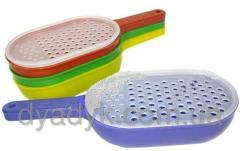 Grater of a plastmasov z ladle