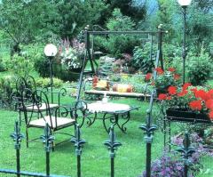 Мебель кованая уличная для сада, дачи, усадьбы