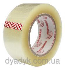 Transparent adhesive tape of 100 m