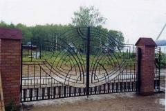 Кованные ворота продажа Бердянск
