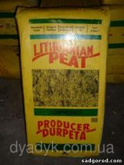 Natural high peat of 250 l