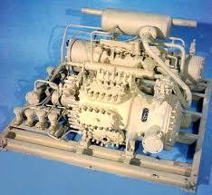 Units are compressor and condenser