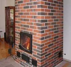 Дымоход из клинкерного кирпича – красиво и надежно