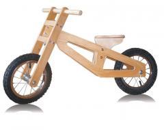 Велобег деревянный. (беговел)