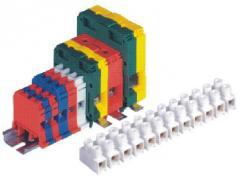 Electrotechnical clamps