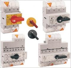 RSI load-breaking isolators, PRZK-breakers-switches of electric power supplies. SPAMEL. The best prices