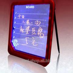 Маркерная LED - доска для записей