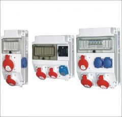 Distributing devices ROS. Switchboard electric