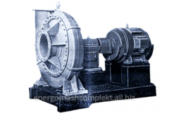 One-stage turbo-blowers and turbogazoduvka with