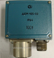 DEM 105 pressure sensors relays