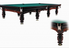 Billiards of the Russian 12 feet Mahogany of