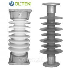 Опорные полимерные и фарфоровые изоляторы типа ИО, ИОР, ИОС, ОСК, ИОСК, СК.