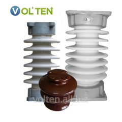 Porcelain insulators of all types: ShF, IO, IOR,