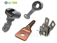 Line accessories: coupling, connecting, tension,