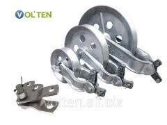 High-voltage equipment, metalwork, insulators,
