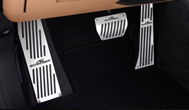 Overlays for pedals of MKPP AC Schnitzer for BMW