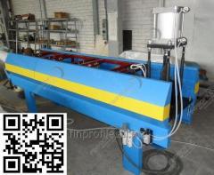 Лінія для виробництва водостічного жолоба