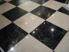 Tile from granite