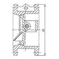 Backpressure valve 19ch24br