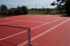 Покрытие для тенисных кортов