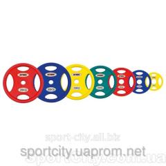 Disks for a bar polyurethane Stein
