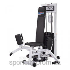 The exercise machine for the bringing and taking