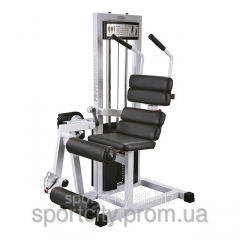 The exercise machine for muscles of an abdominal