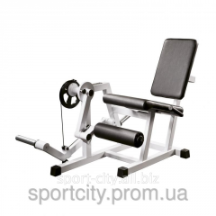 The exercise machine for hip muscles a razgibatel