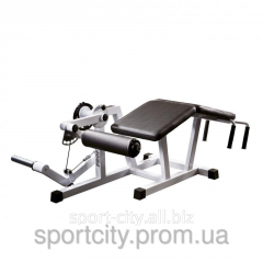 The exercise machine for hip muscles a sgibatel of