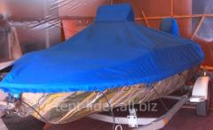 Awnings for inflatable boats