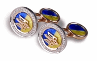 Cuff links Coat of arms of Ukraine