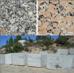 Slabs granite, Plates granite
