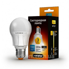 Лампа cветодиодная Videx A60 11W E27 4100K 220V