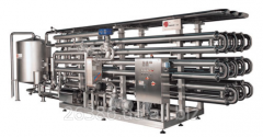 Equipment for production of beer