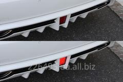 Накладка заднего бампера M'z Speed для Lexus