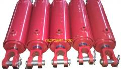 Hydraulic cylinders for hook-on equipmen