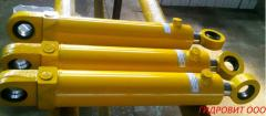 Hydraulic cylinders for excavators