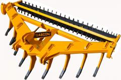 Gascon deep-rippers, Spain for tractors of 80-350