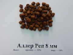 Корм для риб Аллер Реп 8 мм — маточне форелі