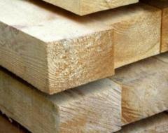Dry planed pine beam 50х150, board