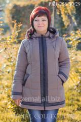 Теплая куртка больших размеров РК1-256