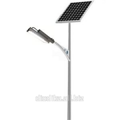 30W LED A streetlight with the solar battery