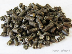 Pellets made from the husks of sunflower net 8 mm