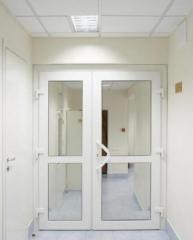 Металлопластиковые  двери от компании Виа-Пласт -