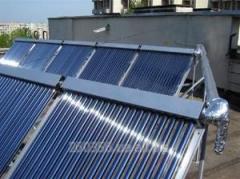 Vacuum solar collectors