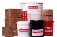 Mastic polimerbitumny pressurizing hot application
