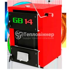 Бытовой твердотопливный котел Гринбернер GB 18 кВт