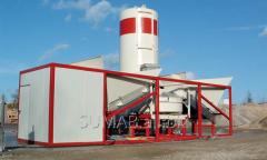 Бетонный завод  Мобильный SUMAB K-40 (40 м3/час,